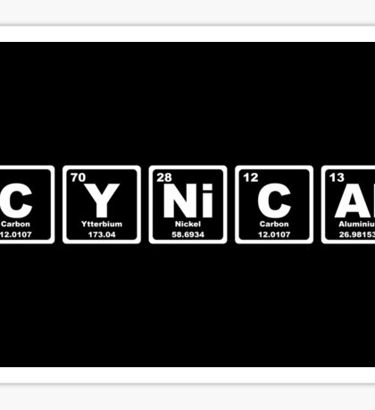 Cynical - Periodic Table Sticker