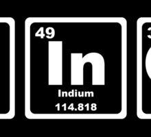Fringe - Periodic Table Sticker