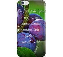 Fruit of the Spirit iPhone Case/Skin