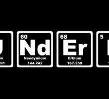 Wunderbar - Periodic Table Sticker