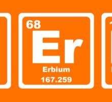 Nerds - Periodic Table Sticker