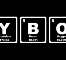 Cyborg - Periodic Table Sticker