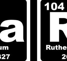 Barf - Periodic Table Sticker