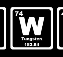 Swag - Periodic Table Sticker