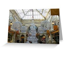 St.Michaels Arcade Chester UK Greeting Card