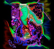 'Don't Mind My Thinking Feet ~ Radical' Pieces Art™ by Kayla Napua Kong