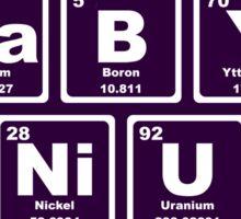 Baby Genius - Periodic Table Sticker