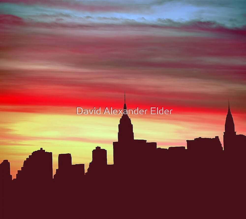 Manhattem Memories by David Alexander Elder