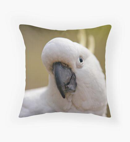 My Good Side Throw Pillow