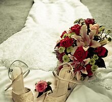 shoes (check), frock (check) flowers(check) bride? by Bella-rina