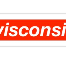 University of Wisconsin Supreme Sticker