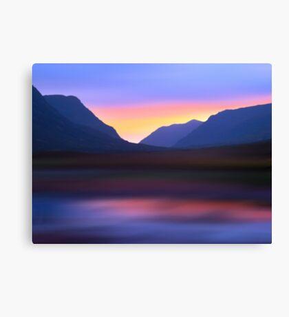Mountain Dusk Canvas Print