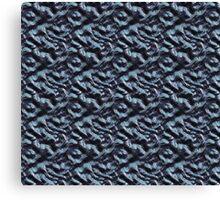 Metallica Series/Chemical Blue  Canvas Print