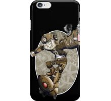 Steampunk Mega Man iPhone Case/Skin