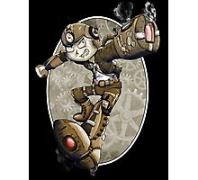 Steampunk Mega Man Photographic Print