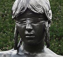 Blindfolded Nymph by LydiaBlonde