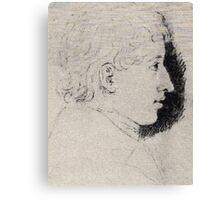 Ludwig Emil Grimm Ferdinand grimm Canvas Print