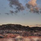 Mine Shaft Landscape by Rod Wilkinson