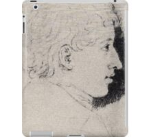 Ludwig Emil Grimm Ferdinand grimm iPad Case/Skin
