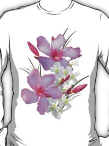 Flowers pink and white T-Shirt