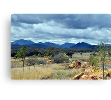 The Warrumbungle Range Canvas Print
