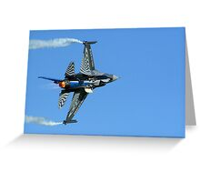F16 Solo Greeting Card