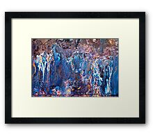 On The Brink of Madness Framed Print