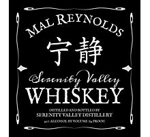 Mal Reynolds Serenity Valley Whiskey Photographic Print