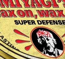 Miyagi's Super Wax - Sticker Sticker