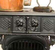 Cast iron Stove Sticker