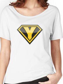 Captain Yellow shirt Women's Relaxed Fit T-Shirt