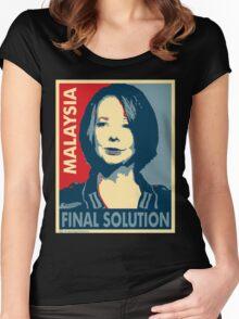 Julia - Final Solution  Women's Fitted Scoop T-Shirt