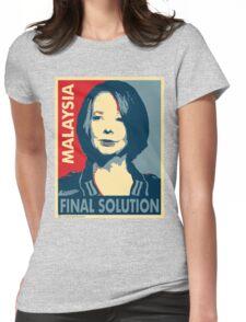 Julia - Final Solution  Womens Fitted T-Shirt