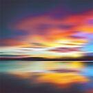 Psychedelic Bedtime at the Lake by David Alexander Elder