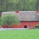 Rustic welsh longhouse by Caroline Maddison