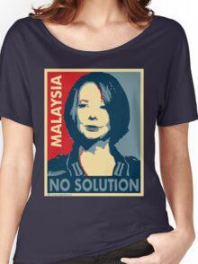 Julia Gillard - No solution  Women's Relaxed Fit T-Shirt