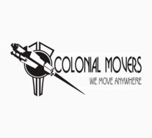 Colonial Movers - Black & White by trekspanner