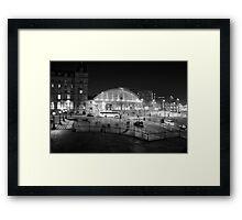Liverpool Lime Street Night 1 Framed Print