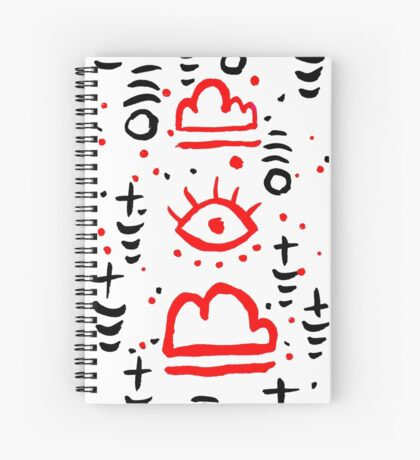 eye to the sky Spiral Notebook