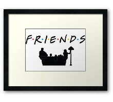 Friends TV Show  Framed Print