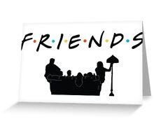 Friends TV Show  Greeting Card