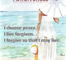 Affirmation for FORGIVENESS by Maree Clarkson