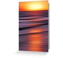 Reflecting Beams of Sunshine Greeting Card
