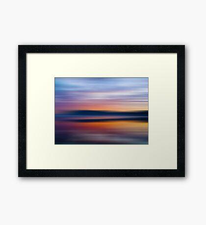 Replication of Light Framed Print