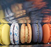 Mmmmm macarons by Leng Te