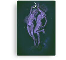 Under Light of Moon  Canvas Print
