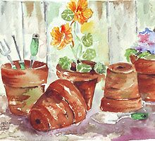Another Shelf in my Garden Shed by Maree Clarkson
