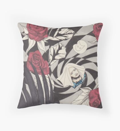 Flight From Wonderland Throw Pillow