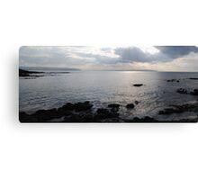Portstewart Coast Panorama Canvas Print