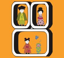 ★ Japanese Family - Japan Spirit Dolls ★ by NoPanam